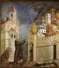 Giotto St Francis exorcisme de les démons d'Arezzo 6x5 pouces Imprimer
