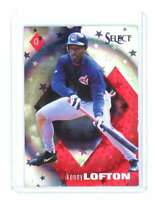 1998 Pinnacle Select Bankruptcy Test #240 KENNY LOFTON cleveland indians