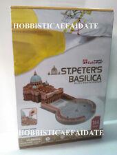 CUBIFUN PUZZLE 3D  - BASILICA DI SAN PIETRO ROMA - 144  PEZZI - cm 33,5x72x23h