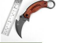 Steel Claw Fox Knives Karambit Folding Outdoor Survival Camping Knife hunting