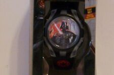 Star Wars Rebels Darth Vader Flashing Flash Face Watch Black/Clear in Gift Box