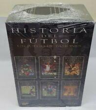 PELICULA DVD DOCUMENTAL HISTORIA DEL FUTBOL UN JUEGO DE PASIONES PRECINTADO