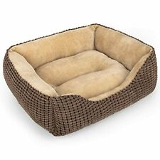 Mixjoy Dog Bed for Large Medium Small Dogs Rectangle Washable Sleeping Puppy .