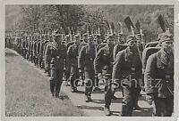 Spatensoldaten Bausoldaten Pioniere marschieren Foto 10x15cm