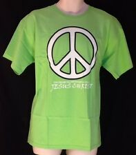 Peace Symbol Catholic Christian T Shirt Small Jesus Peacemakers LENT EASTER