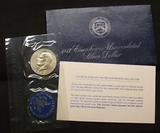 1973-S~~EISENHOWER SILVER DOLLAR~~40% SILVER~~BLUE PACK~~UNCIRCULATED