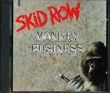 Skid Row CD-MAXI Monkey Business (C) 1991 (Near Comme neuf)