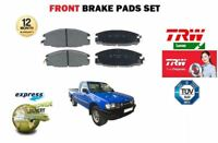 FOR VAUXHALL BRAVA PICKUP 2.3 2.2D 2.5TD 3.1D 1991-2001 FRONT BRAKE PADS SET