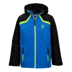 Spyder Boys Flyte Jacket, Ski Snowboard Winter Jacket, Size M (10/12 Boys) NWT