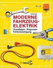 Moderne Fahrzeugelektrik Diagnosen Fehlerbeseitigung Auto Elektrik Fehler Buch