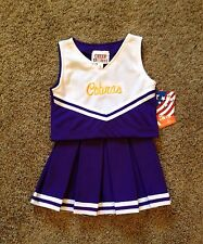 Girls Size 12 Cobras Logo Cheerleading Dress Up uniform Costume NWT !