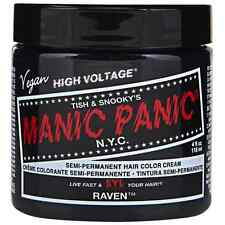 Manic Panic Semi-Permament Hair Color Creme, Raven 4 oz (Pack of 2)