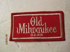 Vintage Old Milwaukee Beer Cloth Patch