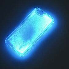 Glow In Dark Dynamic Liquid Quicksand Cover Case For iPhone 5/6/6 Plus/7/7 Plus
