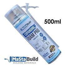 EXPANDING FOAM CRACK GAPS FILL & FIX 500ml MASTA BUILD HAND HELD MONTAGE SEALANT