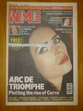 NME 1992 FEB 22 CURVE NIRVANA ALTERN 8 MEGAS JAH WOBBLE