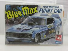 AMT ERTL BLUE MAX FORD MUSTANG FUNNY CAR 1/25 Scale Plastic Model Kit UNBUILT