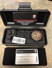 Luminox EVO Navy SEAL 3059 Color mark Watch Black/ Orange