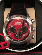 Tudor Fastrider Ducati 42000D automatic chronograph 42mm case with box and paper