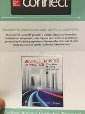Connect Access Card for Business Statistics in Practice 8th Edition