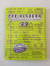 Teaching Textbooks Pre-Algebra 2.0 with Automated Grading 10-Disc CD Set