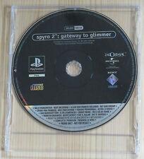 Spyro 2 Gateway to Glimmer  - Promo Gioco Completo - New - PlayStation 1 - PSX