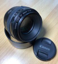 Canon EF 50 mm f/1.4 USM objetivamente