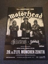 Motörhead - Bad Magic Tour 2015, München Plakat (Poster,Lemmy)