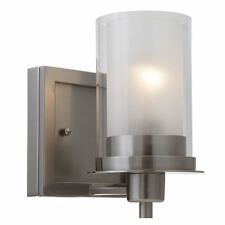 Satin Nickel Juno Series 1 Light Bath & Wall Fixture: 73466
