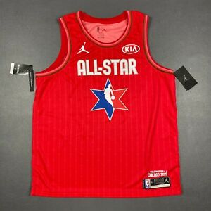 100% Authentic Russel Westbrook Nike 2020 All Star Game Jersey Mens Size 52 XL