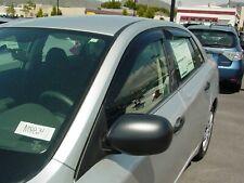 Tape-On Wind Deflectors: 2008-2011 Subaru Impreza