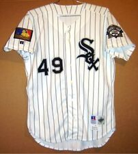Chicago White Sox Brett Myers 2012 Game Worn Road Button-Down Mlb Jersey