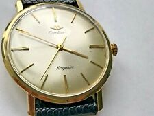 Ultra Rare Vintage Cartier 14K Kingmatic by Movado, Just Serviced!