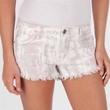 NWT Free People LADIES 25 Shorts PANTS Distressed Cut Offs $88 RV Icing Wash