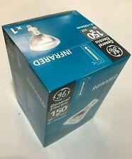 GE Infra Red Light Bulb Industrial Heat Lamp 150W 240V 125mm ES E27 Infrared