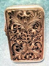 .800 SILVER ITALIAN LIGHTER -LOOK !