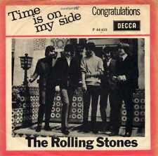 "ROLLING STONES ""TIME IS ON MY SIDE"" ORIG DEN/NOR 1964 VG+/VG+"