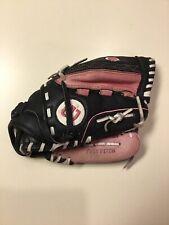 Wilson Black Pink Leather Monsta Web A0440 11-Pb Fast Pitch Softball Glove Rht