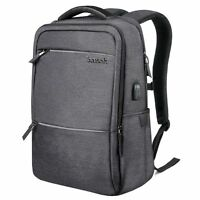 Inateck Laptop Backpack with USB Charging Port, Fits Up to 15.6 Inch Laptop