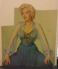 Amazing Rare Vintage Color Marilyn Monroe Magazine Cover Cutout. Stunning!