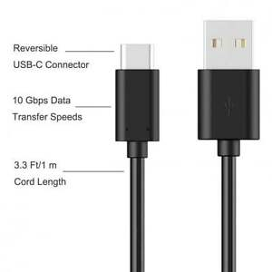 USB Type C Data Charging Cable For Sony Xperia L1,XZS,XZ Premium,XA1 & XA1 Ultra