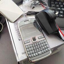 "NUOVO Nokia E72 SIM GRATIS in Metallo Grigio QWERTY 2.36"" Symbian 60 RM-530 0590447 GB Dec11"
