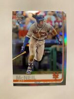 2019 Topps Chrome Jeff McNeil Refractor SP Rookie Card #152 - ** MINT! RARE!! **
