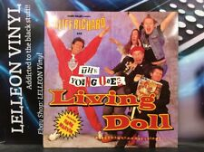 """CLIFF RICHARD & THE YOUNG ONES living doll 12"""" SINGLE VINYLE yz65t a1/b1 POP 80's"""