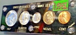 >>>1951 UNITED STATES UNCIRCULATED PROOF LIKE SILVER MINT SET<<<