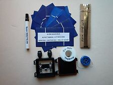 40  2BB SOLAR CELLS KIT, cells-wires-flux pen-junction box-schematic= 75 W panel