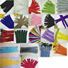 10/50/100pcs Nylon Coil Zippers Tailor Sewer Craft 8-16 Inch (20-40cm)Crafter's!