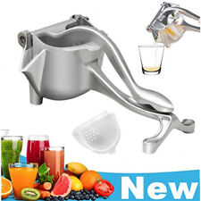 New Stainless Steel Manual Fruit Juicer, Portable Heavy Duty Alloy Hand Juicer