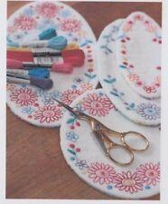 PATTERN - Pretty Stitches Doily Collection - stitchery PATTERN - Leanne's House