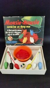 VINTAGE 1963 GAME MOUSIE-MOUSIE SPEAR'S GAMES